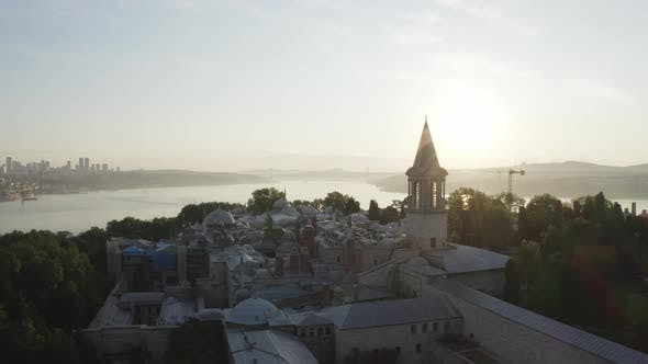 Thumbnail for Aerial View of Topkapi Palace and Istanbul Historical Peninsula