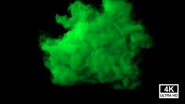 Thumbnail for Huge Green Smoke 4K