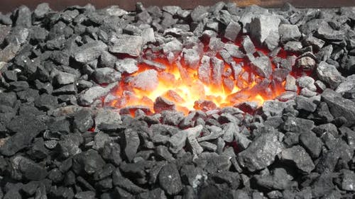 Professional Blacksmith Stove