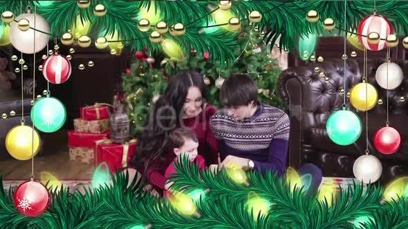 Thumbnail for Christmas Ball Frame Alpha 02