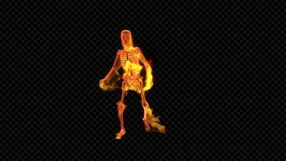 Thumbnail for Fiery Skeleton Break Dance