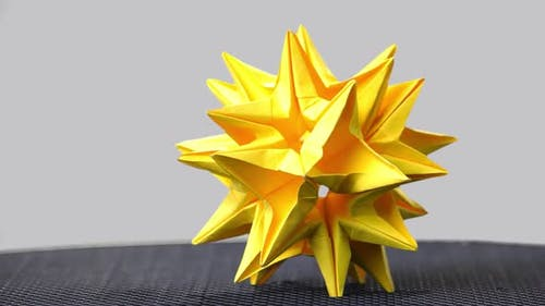 Astronomical Stellated Paper Figure.
