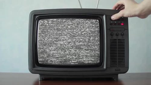 Analog TV with Signal Bad Interference, Switching Channels