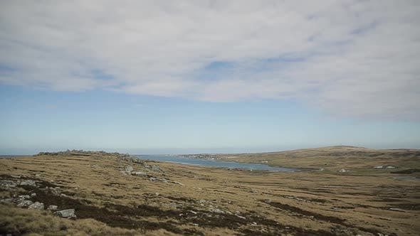 Cover Image for Port Stanley, in Falkland Islands (Puerto Argentino, Islas Malvinas).