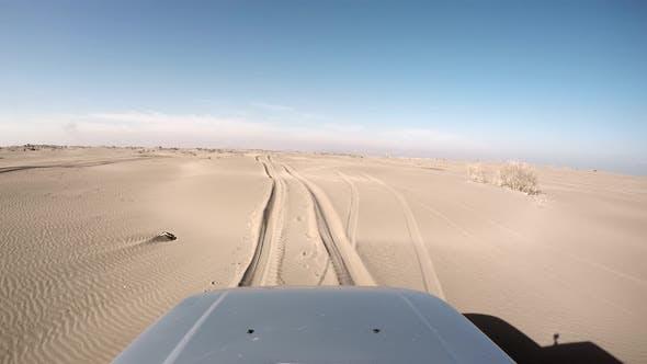 Thumbnail for Car Will Stucking Desert Dune