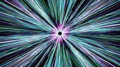 Neon Line Streak Loop Background