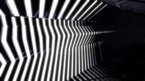 Sci Fi Wandleuchte Tunnel 05 HD