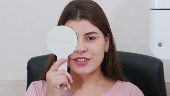 Closing An Eye with an Eye Shield