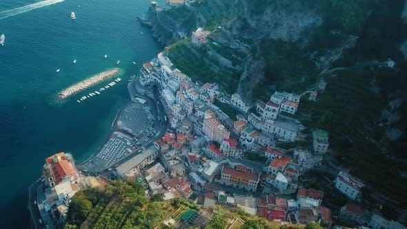 Thumbnail for A Fascinating View of the Ravello and Atrani in Amalfi Coast