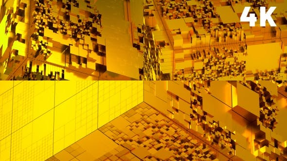 Abstract Gold Background Pack