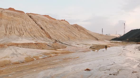 Thumbnail for Overview Of Dirty And Muddy Landscape
