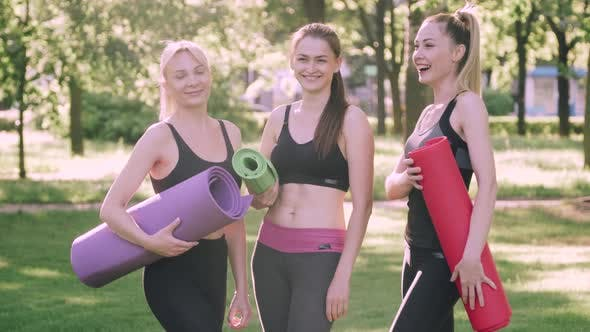 Group of Women Doing Sports Outdoors
