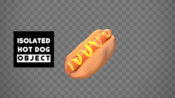 Thumbnail for Isolated Hot Dog Object