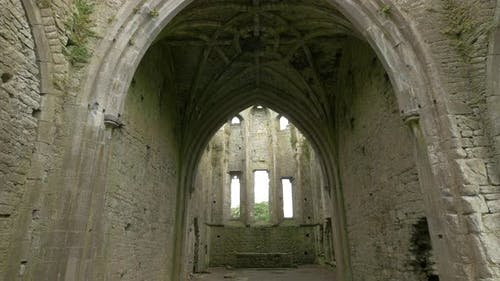 Vaulted ceiling at Hore Abbey