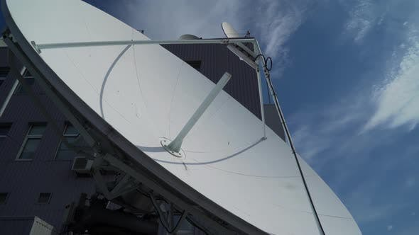 Thumbnail for Industrial Satellite Dishes Close Up