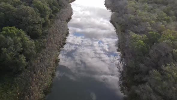 Delta of the River Sky Cloud