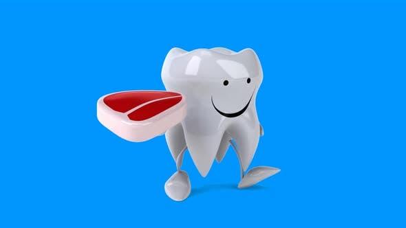 Thumbnail for Fun cartoon tooth