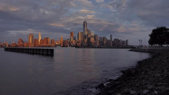 Thumbnail for Manhattan Skyline From Jersey City