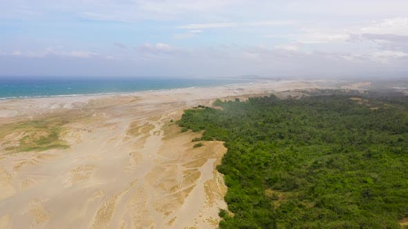 Thumbnail for Paoay Sand Dunes, Ilocos Norte, Philippines, Sand Hills and Trees
