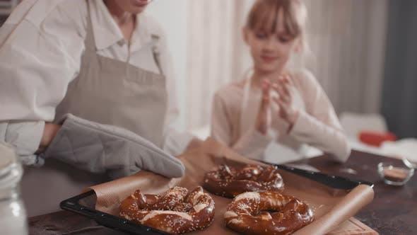 Thumbnail for Smelling Fresh Homemade Pretzels