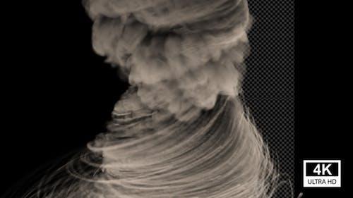 Smoke Dust Cyclone 4K