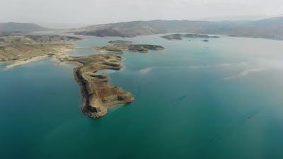 Aerial View of Reservoir