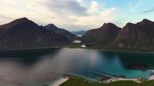Beach Lofoten Archipelago Islands Beach