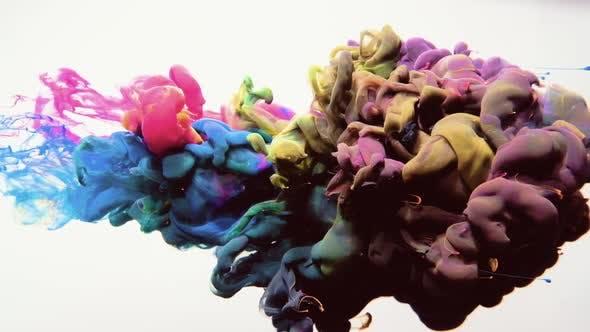 Thumbnail for Ink Blend Multicolor Cloud