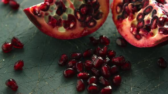Thumbnail for Seeds of Bright Ripe Pomegranate