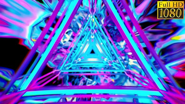 Thumbnail for Colorful Abstract Video Background Vj Loops V2