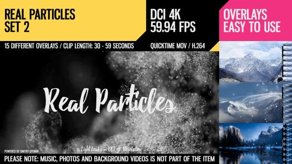 Cover Image for Real Particles (4K Set 2)