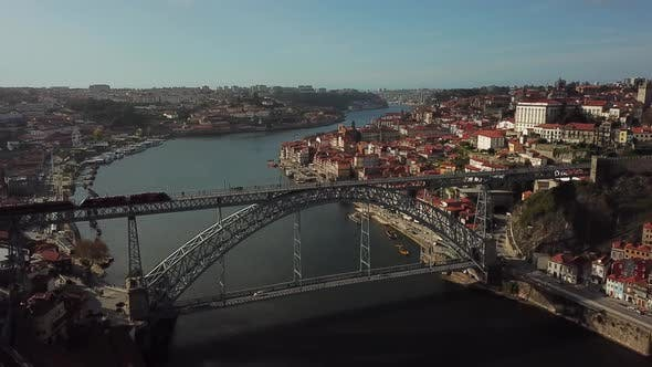 Cover Image for Porto Bridge With Subway
