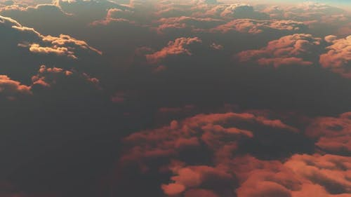 Earth View Above The Cloud 06 HD