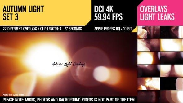 Autumn Light Overlays (4K Set 3)