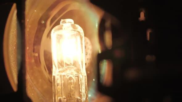 Bulb 8Mm Film Projector