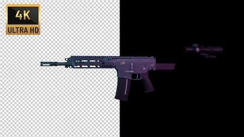4K - Machine Gun Transform