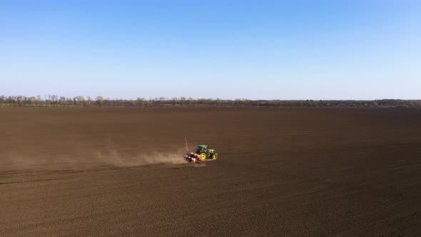 Thumbnail for Agriculture Field And Tractor