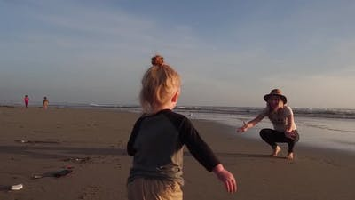 Beach Family Joy