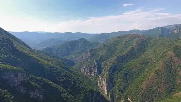 Thumbnail for Aerial Landscape with Mountains in Serbia