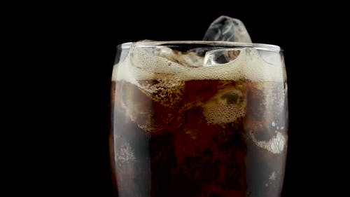 Cold Glass Of Coke