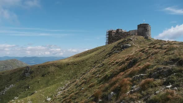 Thumbnail for Abandoned Observatory White Elephant on the Top of Mount Pop Ivan Chernogorskiy.