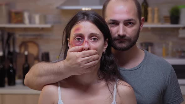 Thumbnail for Face of Scared Woman Victim