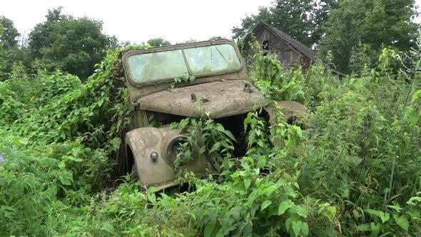 Old Soviet Car
