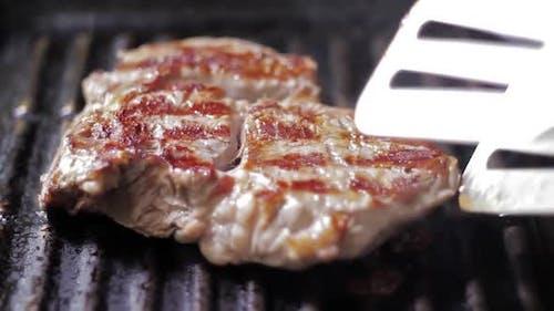 Cooking Beef Steak
