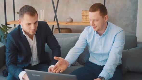 Businessmen Discuss Matters