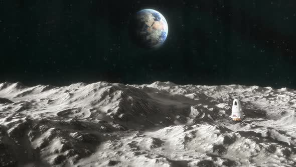 Thumbnail for Spaceship on the Surface of the Moon 2
