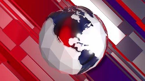 News Studio Background