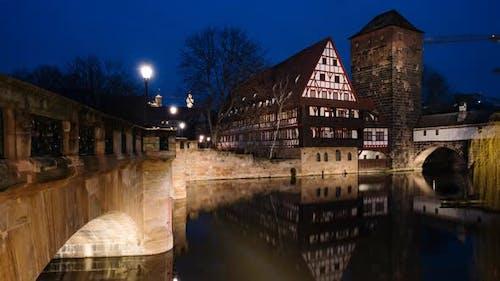 Day To Night Timelapse of Nuremberg, Germany