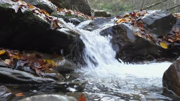 Thumbnail for Close up of water flowing
