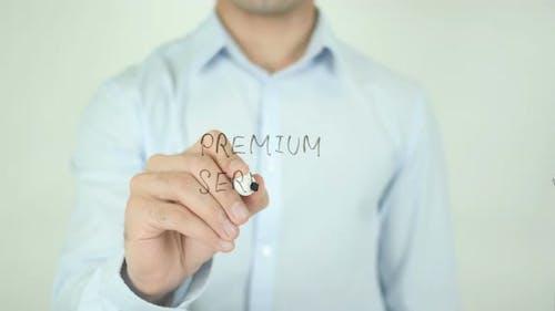 Premium Service, Writing On Screen